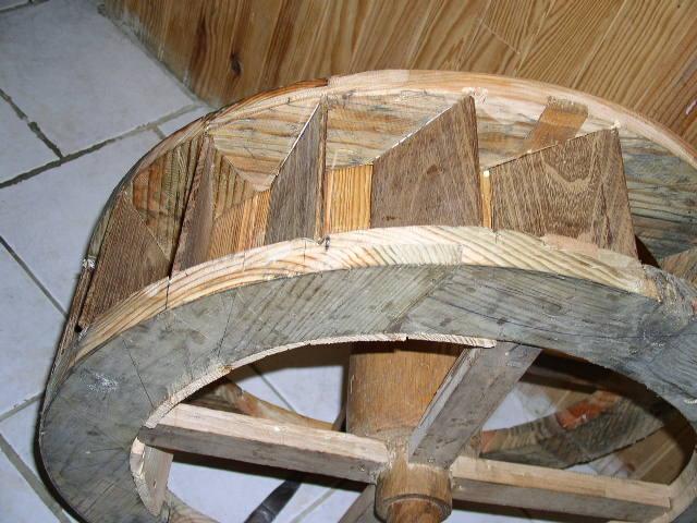 Artcreation moulin eau miniature - Fabriquer bassin en bois nanterre ...