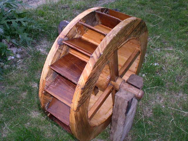 Artcreation moulin eau miniature for Moulin en bois pour jardin